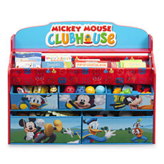 Disney Mickey Deluxe Book & Toy Organizer