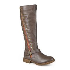 Journee Collection Tilt Knee-High Riding Boots