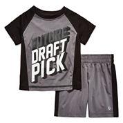 Xersion Boys 2-pc. Short Sleeve Short Set