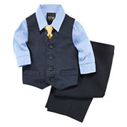 Shirt, Vest, Tie and Pants - Baby Boys 3m-24m