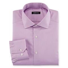 Claiborne® Wrinkle-Free Dobby Dress Shirt - Big & Tall