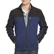 IZOD® Full-Zip Pieced Shaker Fleece Jacket
