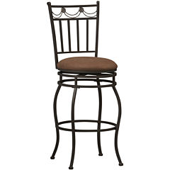 Swag Swivel Barstool  with Back