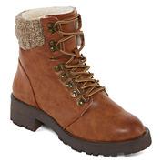 Mia Maylynn Womens Combat Boots