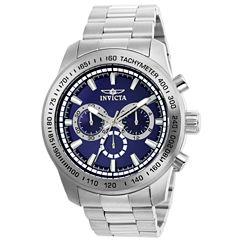 Invicta Men'S Watches Mens Silver Tone Bracelet Watch-21795