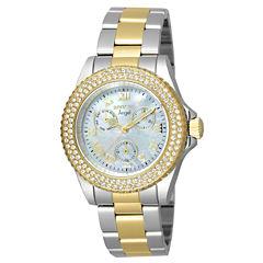 Invicta Womens Two Tone Bracelet Watch-17437