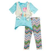 Young Land Girls Legging Set-Toddler