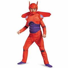Big Hero 6: Kids Deluxe Baymax Muscle Costume - S(4-6)