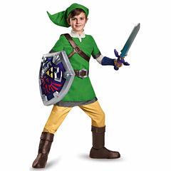 The Legend Of Zelda Link 4-pc. Zelda Dress Up Costume