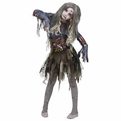 Zombie Girl Costume - Medium (8-10)