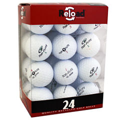 24 Pack TopFlite Recycled Golf Balls.
