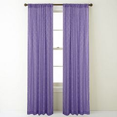 Jess Rod-Pocket Curtain Panel
