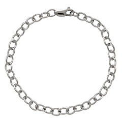 LIMITED QUANTITIES! Sterling Silver Polished 090 Cable Chain Bracelet
