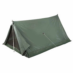 Stansport Scout 2 Person Nylon Tent - Forest GreenAnd Tan
