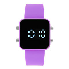 Womens Purple Strap Watch-17677