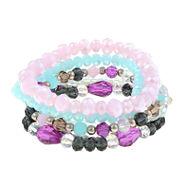 Decree Multi Color Stretch Bracelet