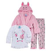 Girls Pajamas + Robe Set-Toddler