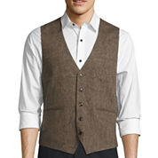 WD.NY Brown Donegal Vest