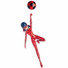 Miraculous Action Doll Jump & Fly Ladybug
