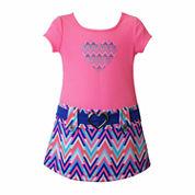 Lilt Short Sleeve Dress Set - Toddler