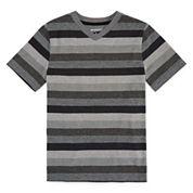 Arizona Short-Sleeve Striped Tee - Boys 8-20 and Husky