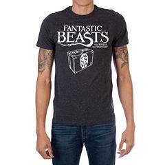 Fantastic Beast Logo Short Sleeve Graphic T-Shirt
