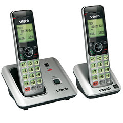 VTech CS6619 DECT 6.0 Expandable Cordless Phone with Caller ID/Call Waiting and either One or Two Handsets