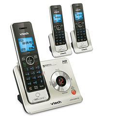 VTech LS6425-3 DECT 6.0 3-Handset Cordless Answering System with Caller ID/Call Waiting
