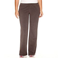 Made For Life Jersey Workout Pants-Plus (31.5