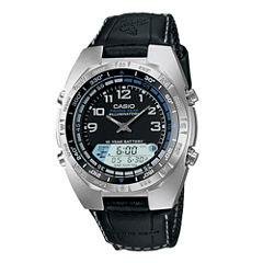 Casio® Pathfinder Forester Mens Analog/Digital Watch AMW700B-1AV