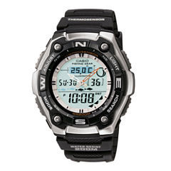 Casio® Active Dial Illuminator Mens Analog/Digital Sport Watch AQW101-1ACF