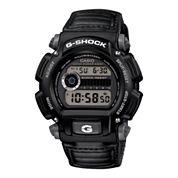 Casio® G-Shock Mens Black Nylon Strap Sport Watch DW9052V-1