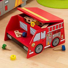 KidKraft® Fire Truck Step 'N Store