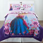 Disney Frozen Celebrate Love Reversible Comforter & Accessories