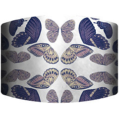 Butterfly Reflection Drum Lamp Shade