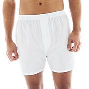 Stafford® 4-pk. Woven Cotton Boxers