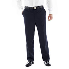 Men's JF J. Ferrar® End on End Flat–Front Big & Tall Suit Pants