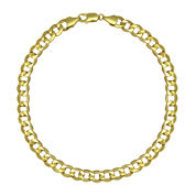 LIMITED QUANTITIES! 10k Yellow Gold Hollow Curb 9