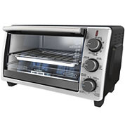 Black+Decker TO1950SBD 6-Slice Toaster Oven