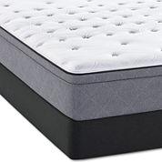 Sealy® Posturepedic® Meadowlark Cushion Firm Euro Top Mattress + Box Spring