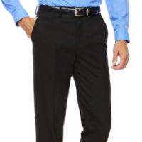 Stafford Mens Flat-Front Pants (Multiple Colors)