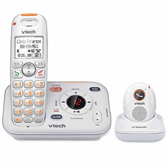 VTech SN6187 CareLine Cordless Answering System with Portable Pendant