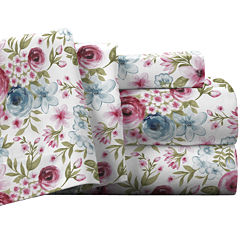 Pointehaven Luxury Weight Flannel Sheet Set