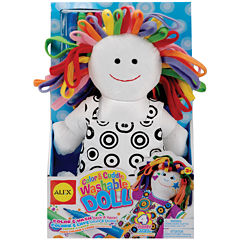 ALEX TOYS® Color & Cuddle Washable Doll Kit
