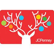 $50 Reindeer Ornaments Gift Card
