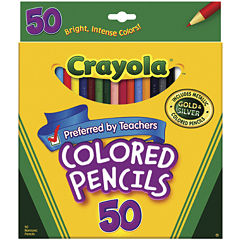 Crayola® 50-pk. Colored Pencils