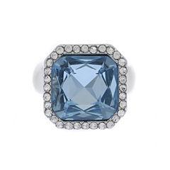 Monet Jewelry Womens Blue Stretch Ring