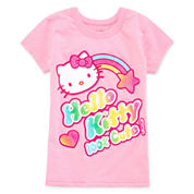 Hello Kitty Hello Kitty Graphic T-Shirt-Preschool Girls