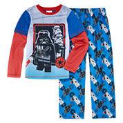Boys 2-pc. Long Sleeve Lego Kids Pajama Set-Big Kid