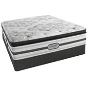 Simmons® Beautyrest® Platinum® McNeil Pillow-Top Luxury Firm Mattress + Box Spring